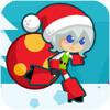 圣诞女孩跑酷h5游戏