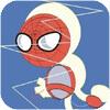 蜘蛛网不缠线h5游戏