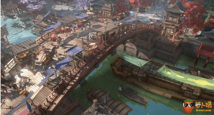 """《逆水寒》首测版评测:这款游戏中有一个""""活着""""的江湖图片"""